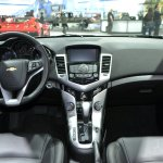 2015 Chevrolet Cruze at 2014 New York Auto Show - dashboard