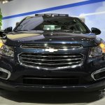 2015 Chevrolet Cruze at 2014 New York Auto Show - front