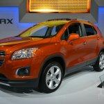 2015 Chevrolet Trax at 2014 New York Auto Show - front three quarter