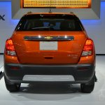 2015 Chevrolet Trax at 2014 New York Auto Show - rear
