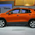 2015 Chevrolet Trax at 2014 New York Auto Show - side