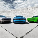 2015 Dodge Challenger press shot