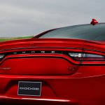 2015 Dodge Charger rear press shot