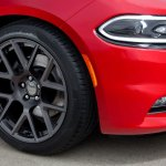 2015 Dodge Charger wheel press shot