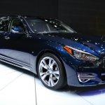 2015 Infiniti Q70L at 2014 NY Auto Show front quarter