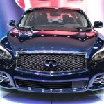 2015 Infiniti Q70L at 2014 NY Auto Show front