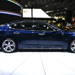 2015 Infiniti Q70L at 2014 NY Auto Show side