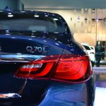 2015 Infiniti Q70L at 2014 NY Auto Show taillight