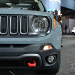2015 Jeep Renegade at 2014 New York Auto Show - headlamp