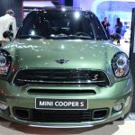 2015 MINI Countryman Facelift at 2014 New York Auto Show - front