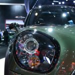 2015 MINI Countryman Facelift at 2014 New York Auto Show - headlamp detail