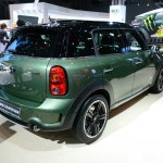 2015 MINI Countryman Facelift at 2014 New York Auto Show - rear three quarter