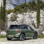 2015 Mini Countryman facelift press shot rear quarter