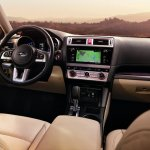 2015 Subaru Outback dashboard press shot