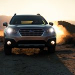 2015 Subaru Outback front press shot