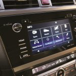 2015 Subaru Outback infotainment syystem press shot