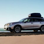 2015 Subaru Outback side press shot