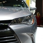 2015 Toyota Camry at 2014 NY Auto Show headlight