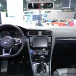 2015 VW Golf Sportwagen at 2014 NY Auto Show interior