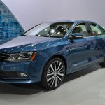 2015 VW Jetta at 2014 NY Auto Show front quarter