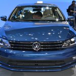 2015 VW Jetta at 2014 NY Auto Show front