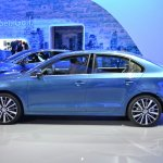 2015 VW Jetta at 2014 NY Auto Show side