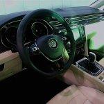 2015 VW Passat spied cabin
