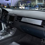 2015 VW Touareg dashboard at Auto China