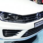 2015 VW Touareg front view at Auto China