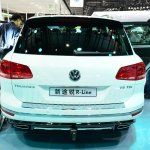 2015 VW Touareg rear at Auto China