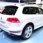 2015 VW Touareg rear three quarters right at Auto China