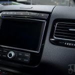 2015 VW Touareg screen at Auto China