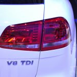 2015 VW Touareg taillamp at Auto China