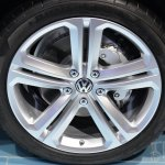 2015 VW Touareg wheel at Auto China