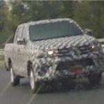 2016 Toyota hilux spied front quarter