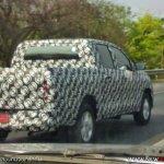2016 Toyota hilux spied rear quarter