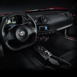 Alfa Romeo 4C interior press shot