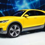 Audi TT Offroad Concept at Auto China 2014