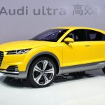 Audi TT Offroad Concept front three quarters right