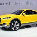 Audi TT Offroad Concept front three quarters right
