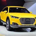 Audi TT Offroad Concept front three quarters