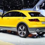 Audi TT Offroad Concept rear three quarters