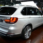BMW Concept X5 eDrive at 2014 New York Auto Show - rear three quarter