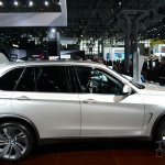 BMW Concept X5 eDrive at 2014 New York Auto Show - side