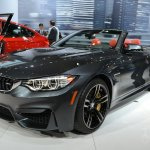 BMW M4 Convertible at 2014 New York Auto Show - front three quarter