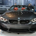 BMW M4 Convertible at 2014 New York Auto Show - front