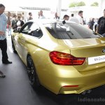 BMW M4 Coupe rear three quarters at the 2014 Goodwood Festival of Speed