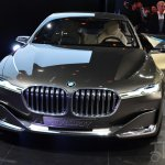 BMW Vision Future Luxury Concept front at Auto China 2014