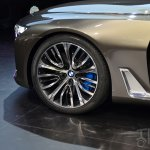 BMW Vision Future Luxury Concept front wheel at Auto China 2014