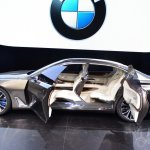 BMW Vision Future Luxury Concept side at Auto China 2014